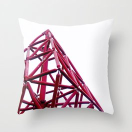 A Pyramid Schema Throw Pillow