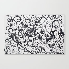 freehand Canvas Print