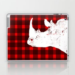 Animals Illustration - Rhinos Laptop & iPad Skin