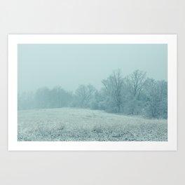 Union Winter 2 Art Print
