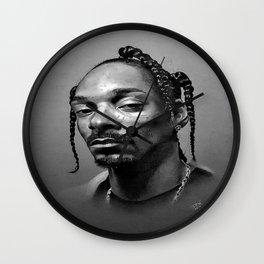 Snoop Dogg Portrait Wall Clock