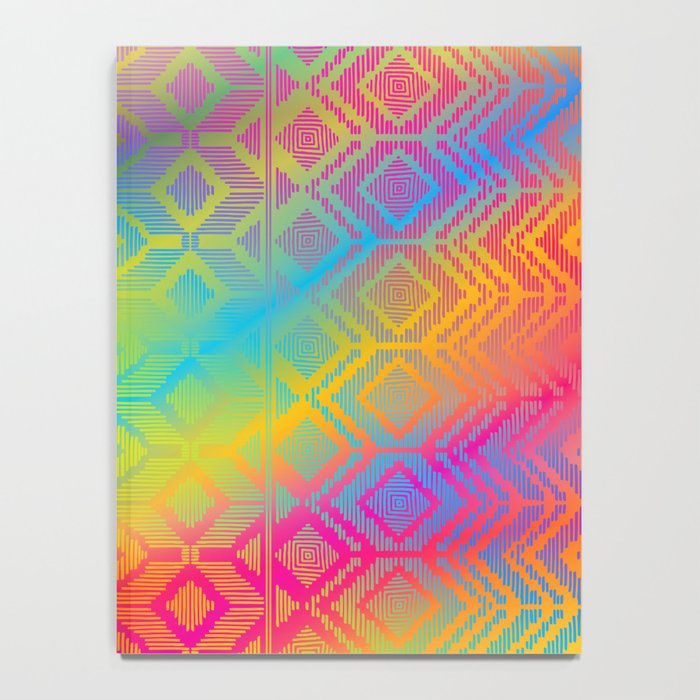 inca rainbow Notebook