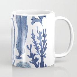 Blue Seaweeds Coffee Mug