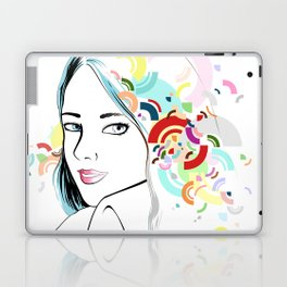 Thoughts Laptop & iPad Skin