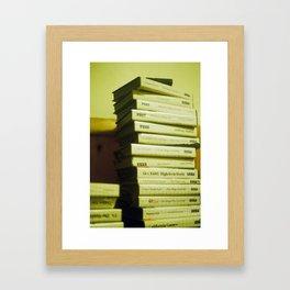 Older- Schooler Framed Art Print