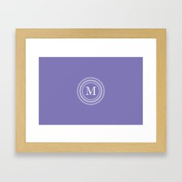 The Circle of  M Framed Art Print