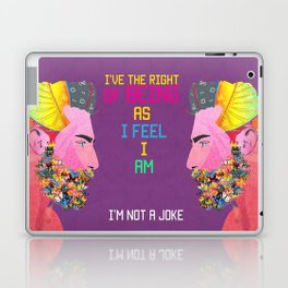As I feel I am Laptop & iPad Skin