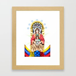 Virgin of Coromoto Framed Art Print