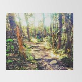 Zealand Forest Throw Blanket