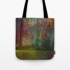 Midnight Downtown Tote Bag