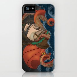 A Beast Arose From the Ocean iPhone Case