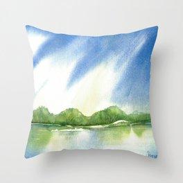 Sky Song Throw Pillow