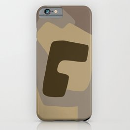 grey abstract matter iPhone Case