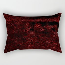 Neon Field Rectangular Pillow