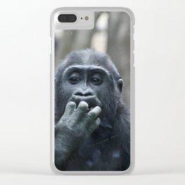 Um Clear iPhone Case