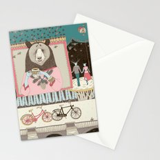 Bear's Cup of Tea Stationery Cards