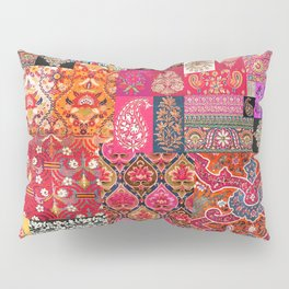 -A35- Traditional Colored Moroccan Artwork. Pillow Sham