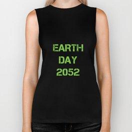Earth Day 2052 Biker Tank
