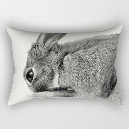 Rabbit Animal Photography Rectangular Pillow