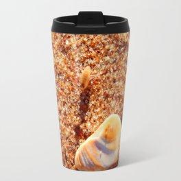 Sand Flea on the Beach Travel Mug