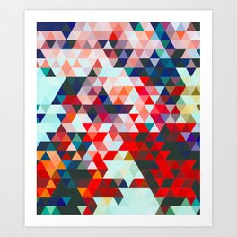 Geometrico #geometrical #abstract Art Print