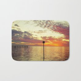 Dock of the Bay Bath Mat