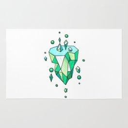 Little Emerald World Rug