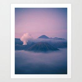 Dawn At Mount Bromo Art Print