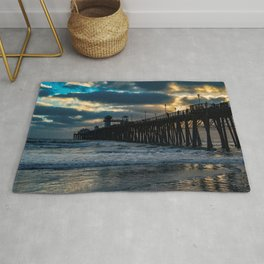 South Side Oceanside Pier ~10-2015 Rug