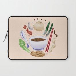 Dumpling Diagram Laptop Sleeve