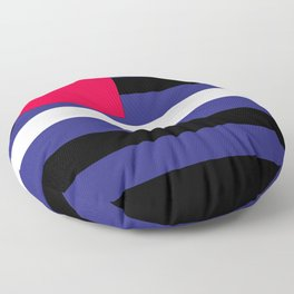 Leather, Latex and BDSM Pride Flag Floor Pillow