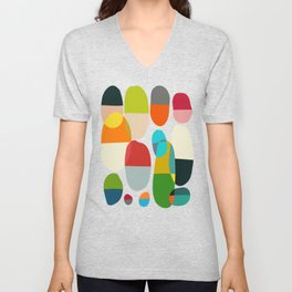 Jagged little pills Unisex V-Neck