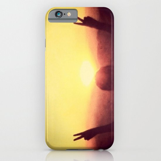 Peace Out iPhone & iPod Case