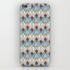Retro Geometry Diamond iPhone & iPod Skin