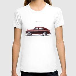 POLISH DREAM - WARSZAWA IN RUBY T-shirt