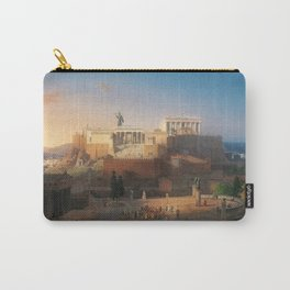 The Acropolis of Athens, Greece by Leo von Klenze Carry-All Pouch