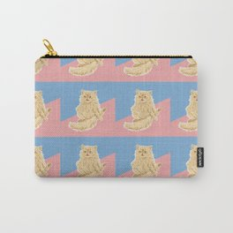 Persian Cat Meow Carry-All Pouch