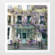 Au Vieux Paris Art Print