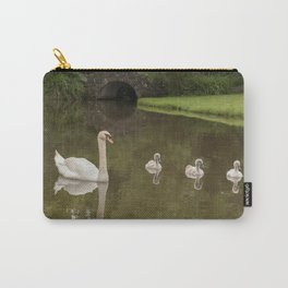 Swans day out Carry-All Pouch