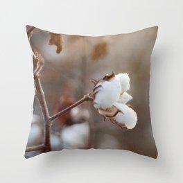 Sweet Cotton Throw Pillow