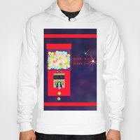 gumball Hoodies featuring Super Moon Gumball Machine by Mel Moongazer
