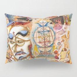 Xul Solar collage Pillow Sham