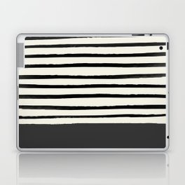 Charcoal Gray x Stripes Laptop & iPad Skin