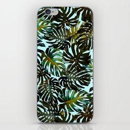 TROPICAL GARDEN XI iPhone Skin