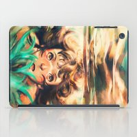 river iPad Cases featuring The River by Alice X. Zhang