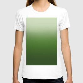 Tropical Green Gradient T-shirt