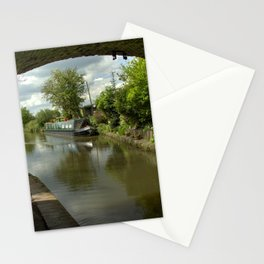 Barge thro the bridge Stationery Cards