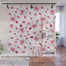 Magnolia blossom Wall Mural