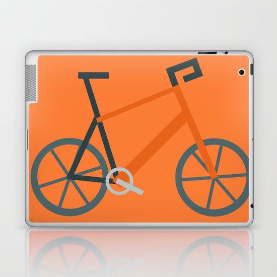 Orange Bike Laptop & iPad Skin