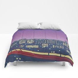 Hiroshi Nagai Vaporwave Shirt Comforters